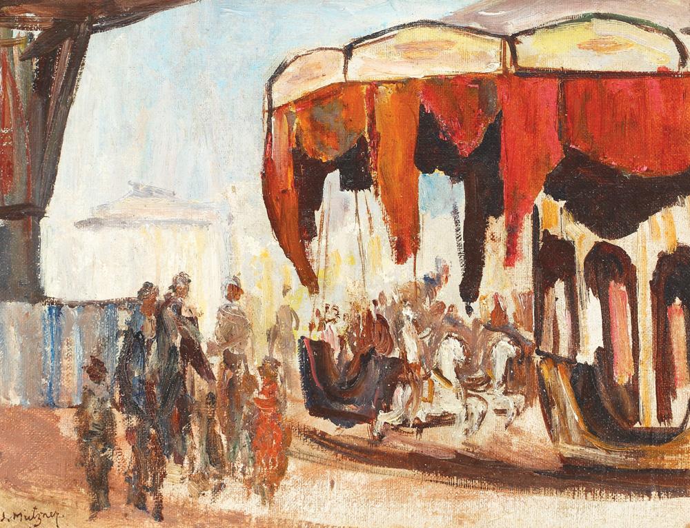 Samuel Mützner - Carusel la Moși