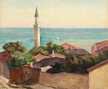 Samuel Mützner - Minaret la Balcic