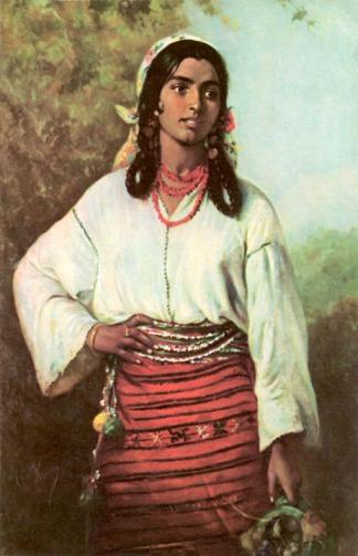 Theodor Aman - Țigăncuşă