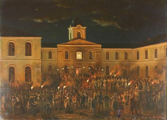 Theodor Aman - Hora Unirii la Craiova