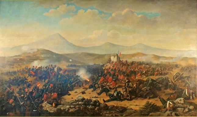 Theodor Aman - Lupta de la Alma