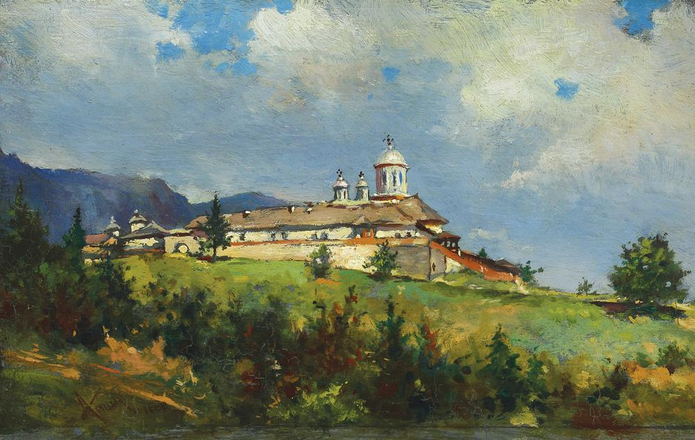 Theodor Aman - Mănăstirea Sinaia
