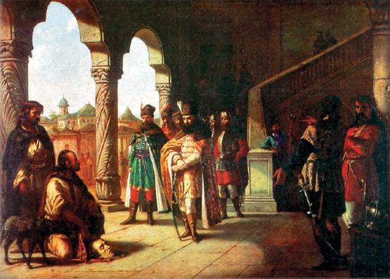 Theodor Aman - Mihai Viteazul si capul lui Bathory