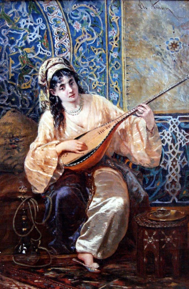 Theodor Aman - Odalisca