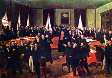 Theodor Aman - Proclamarea Unirii