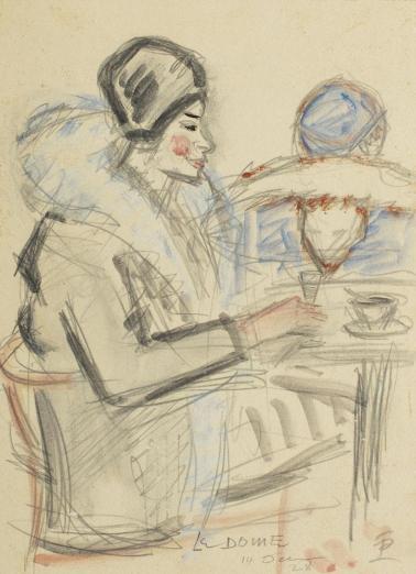 Theodor Pallady - Cafe du Dome