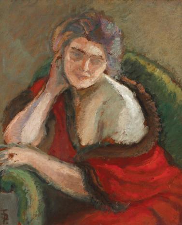 Theodor Pallady – Femeie pe gânduri