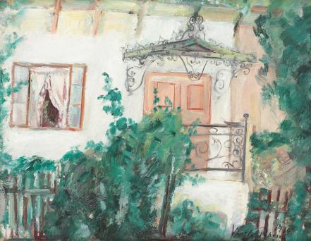 Vasile Popescu - Căsuţa cu marchiză (Casa părintească a soției, Giurgiu)