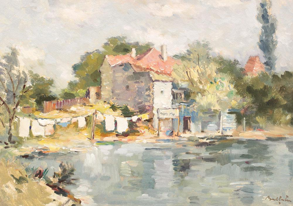 Adam Bălțatu - Case în Bretania.