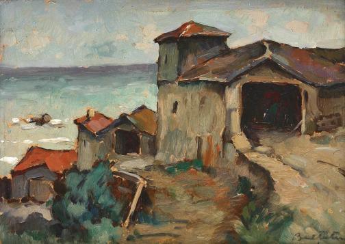 Adam Bălțatu - Case la Mangalia