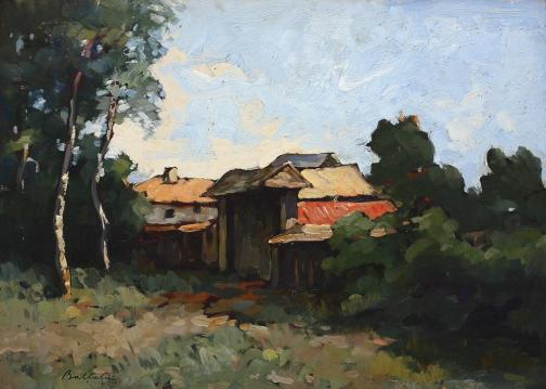 Adam Bălțatu - Case la marginea pădurii