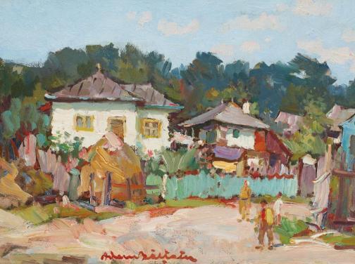 Adam Bălțatu - Case pe Valea Siretului