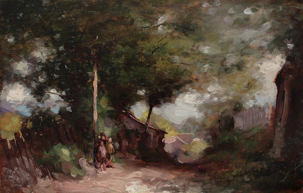 Adam Bălțatu - Copii pe uliţă