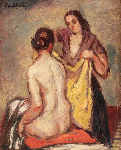 Adam Bălțatu - După baie