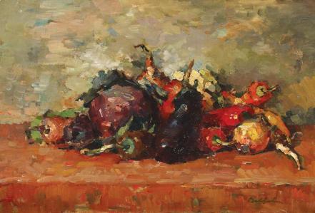 Adam Bălțatu - Natură statică cu legume