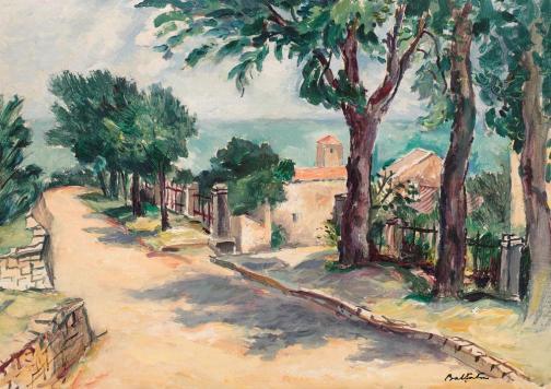 Adam Bălțatu - Peisaj meridional