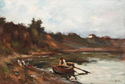 Adam Bălțatu - Pregătiri de pescuit