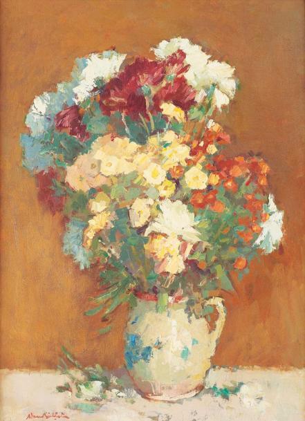 Adam Bălțatu - Ulcică cu flori