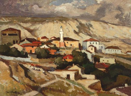 Adam Bălțatu - Vedere asupra Balcicului