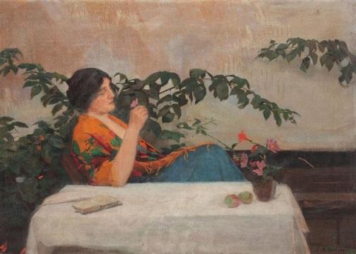 Constantin Artachino - Pe terasa