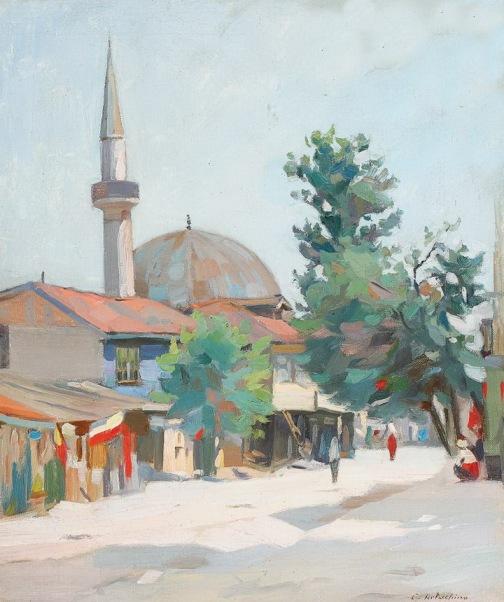 Constantin Artachino - Târg oriental