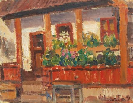 Dumitru Ghiaţă - Pridvorul cu flori