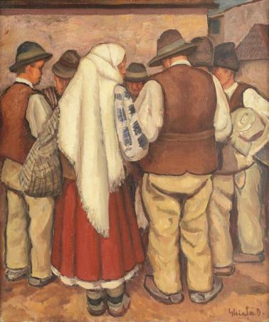 Dumitru Ghiaţă - Târg la Mehedinți