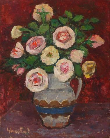 Dumitru Ghiaţă - Ulcică cu trandafiri