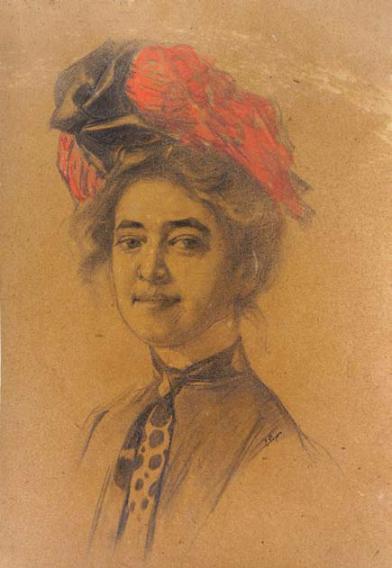 Elena Popea - Autoportret