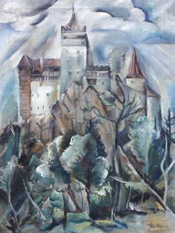 Elena Popea - Castelul Bran