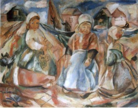 Elena Popea - Fetite olandeze cu saboti de lemn