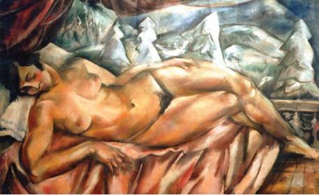 Elena Popea - Nud