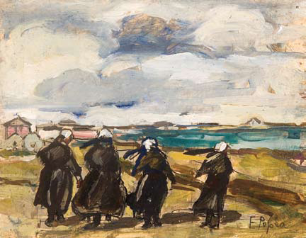 Elena Popea - Peisaj din Bretania