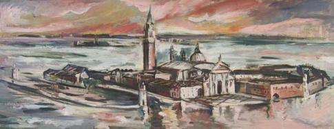 Elena Popea - Peisaj din Italia