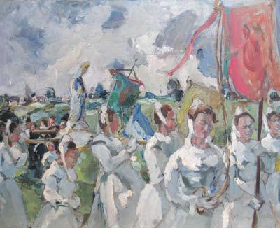 Elena Popea - Procesiune in Franta