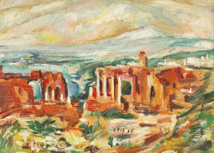 Elena Popea - Teatrul grecesc din Taormina