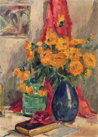 Elena Popea - Vas cu flori