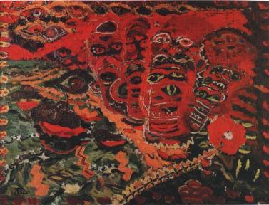 Ion Ţuculescu - Ţărmul roşu