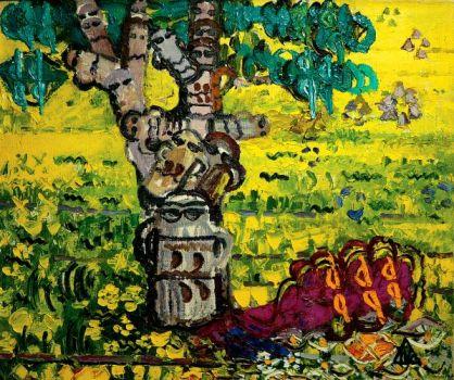 Ion Ţuculescu - Copac în soare