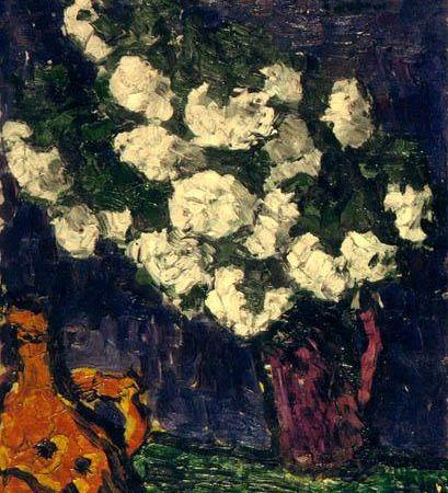 Ion Ţuculescu - Flori albe