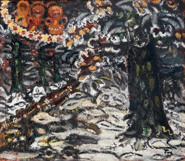 Ion Ţuculescu - Iarna în pădure