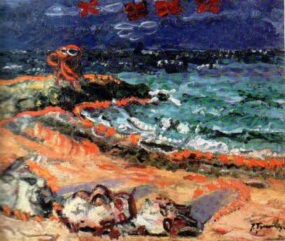 Ion Ţuculescu - Marina la Mangalia