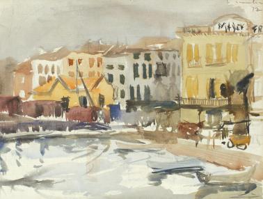 Ion Ţuculescu - Peisaj provensal