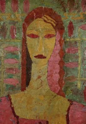 Ion Ţuculescu - Portret de femeie
