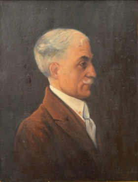 Ion Ţuculescu - Portretul Prof. Ion Ciolac, 1927