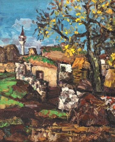 Ion Ţuculescu - Primăvară la Mangalia