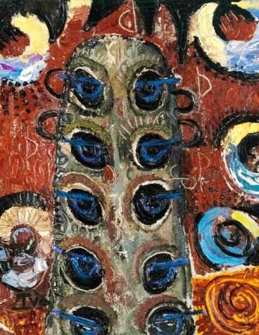 Ion Țuculescu - Păunii privirilor