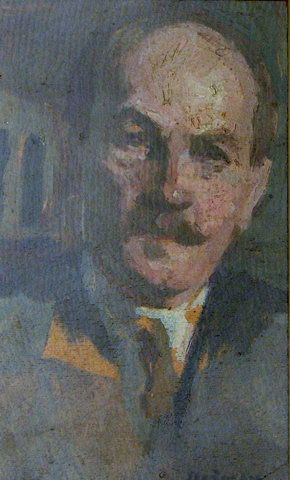 Ipolit Strâmbu  - Autoportret