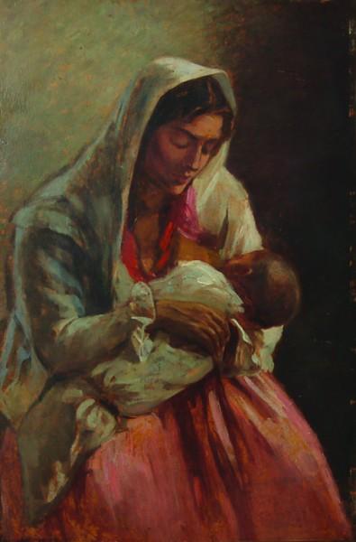 Ipolit Strâmbu  - Maternitate