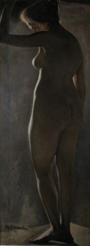 Ipolit Strâmbu  - Nud vazut din spate